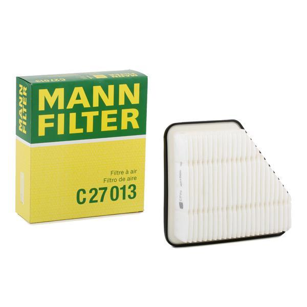 Luftfilter C 27 013 MANN-FILTER C 27 013 af original kvalitet