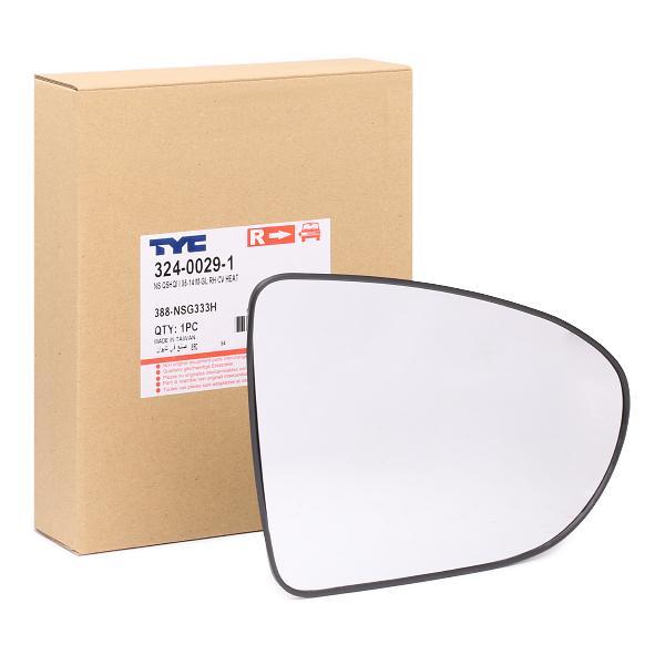 Mirror Glass 324-0029-1 TYC 324-0029-1 original quality
