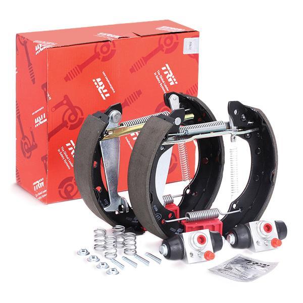 Kit frenos, disco de tambor TRW GSK1512 evaluación