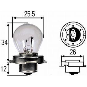 Крушка с нагреваема жичка, фар за дълги светлини 8GA 008 899-061
