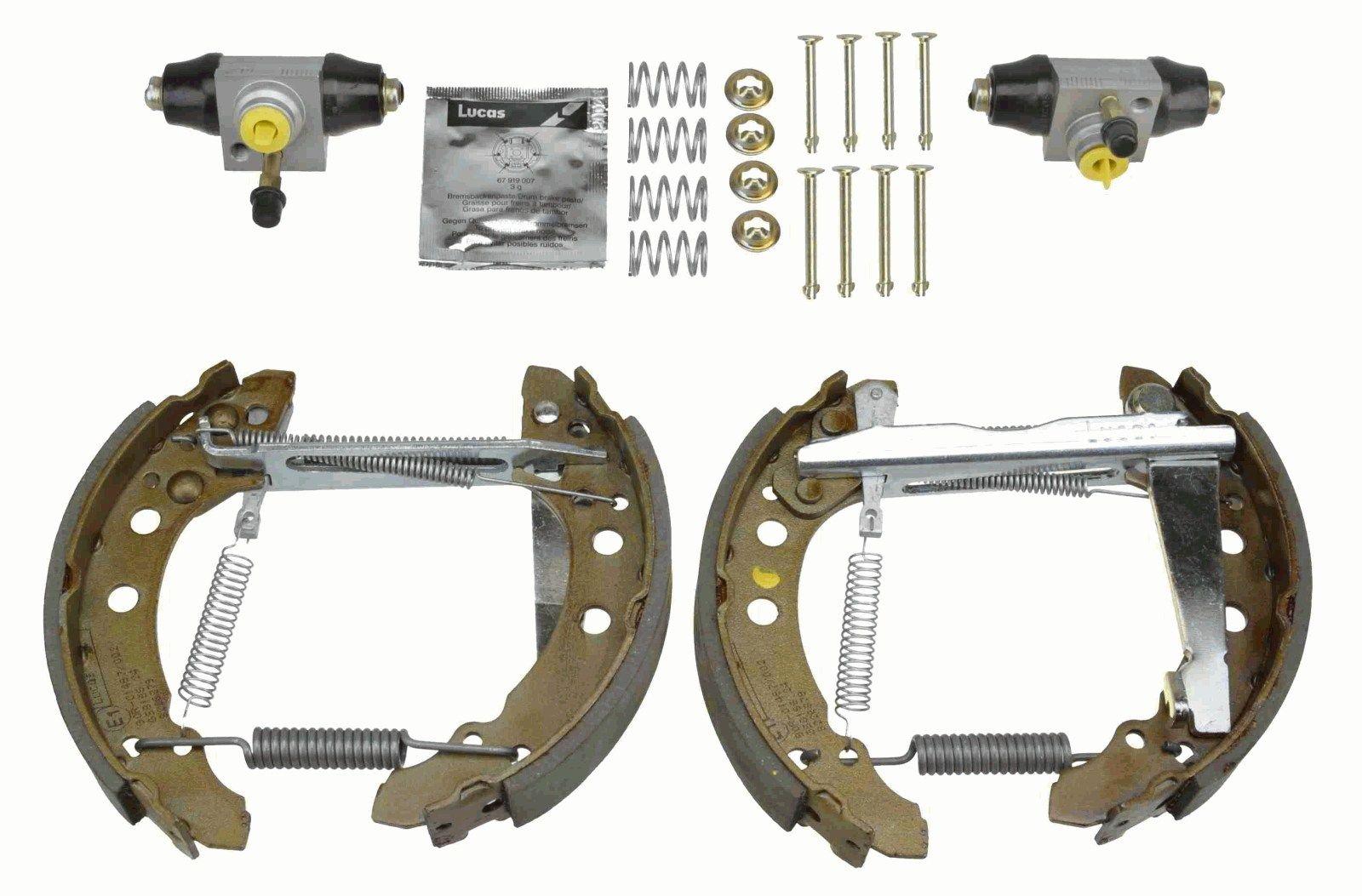 Kit freno, frenos de tambor GSK1501 TRW GSK1501 en calidad original