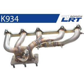 LRT Grenrör, avgassystem K934 med OEM Koder 023253031H