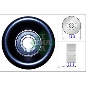 Tensioner Pulley, v-ribbed belt 531 0827 10 CIVIC 8 Hatchback (FN, FK) 2.0 i-VTEC Type R (FN2) MY 2010