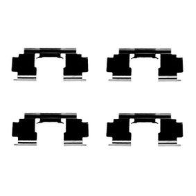 Комплект принадлежности, дискови накладки 1 987 474 324 25 Хечбек (RF) 2.0 iDT Г.П. 2003