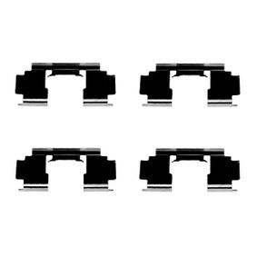 Комплект принадлежности, дискови накладки 1 987 474 324 800 (XS) 2.0 I/SI Г.П. 1997