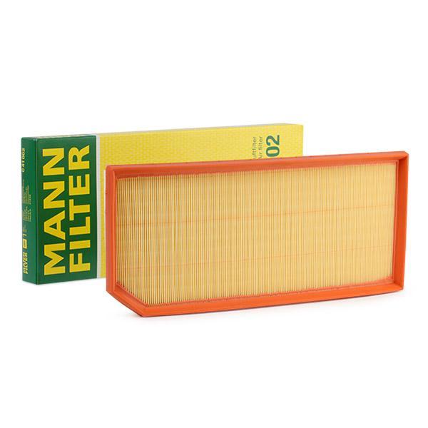Luftfilter MANN-FILTER C41002 ekspertviden