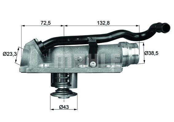 D'eau 115 Thermostat 88°cti Tronik Cher Behr Thermot 88Pas gvbf76yY