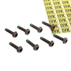 LuK Schraubensatz, Schwungrad 411 0118 11 für AUDI 80 (8C, B4) 2.8 quattro ab Baujahr 09.1991, 174 PS