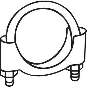 Klämma, avgassystem med OEM Koder 7625579