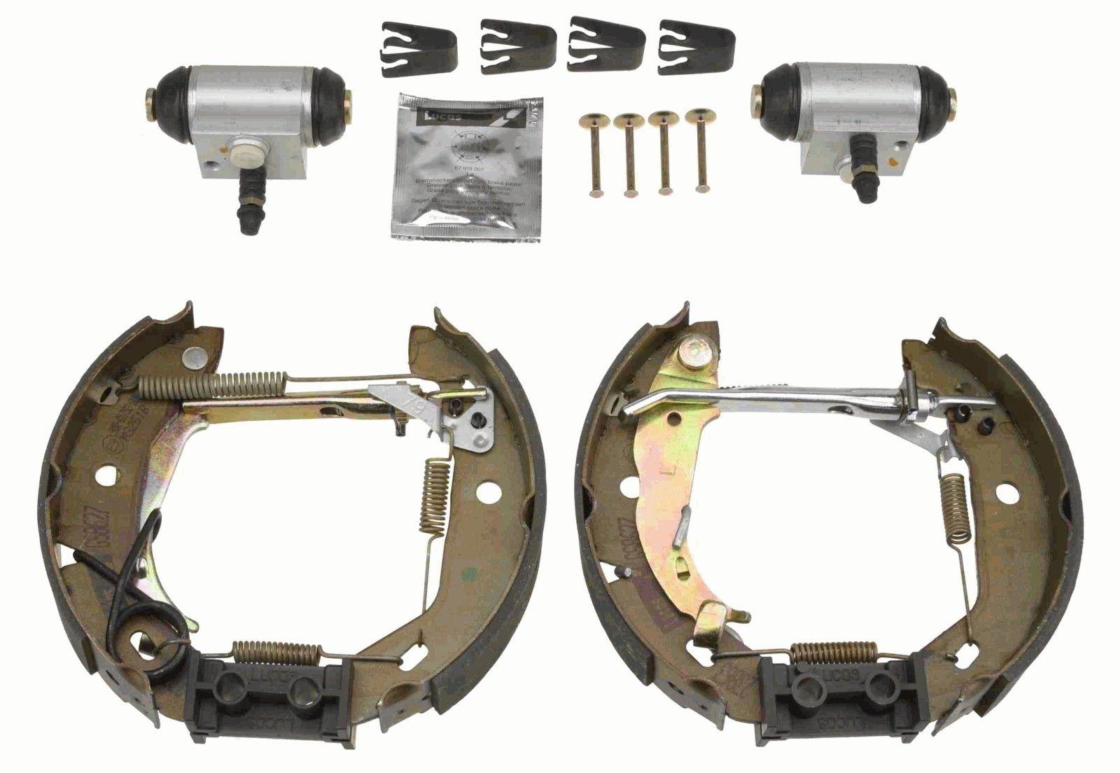Febi Bilstein 37547 kit de montaje de zapatas de freno