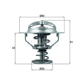 Thermostat, Kühlmittel Art. Nr. TX 68 88D 120,00€