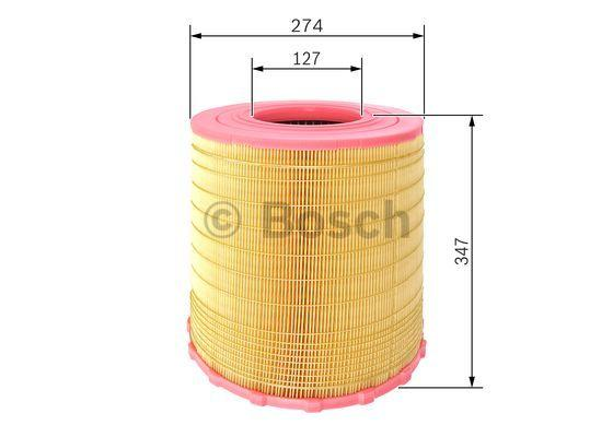 Luftfilter BOSCH F 026 400 284 Rating