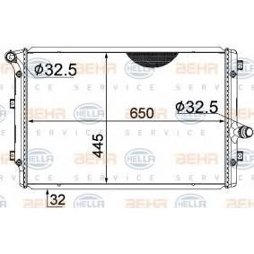 Kühler, Motorkühlung mit OEM-Nummer 1K0121251DD