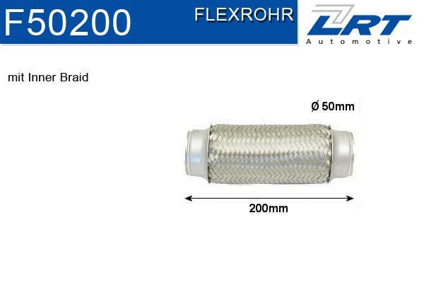 LRT  F50200 Flexrohr, Abgasanlage Innendurchmesser: 50mm
