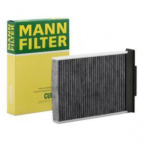 Filter, Innenraumluft Länge: 255mm, Breite: 186mm, Höhe: 42mm mit OEM-Nummer 7701064235