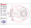 BREMBO COATED DISC LINE Bremsscheibe VW Voll, beschichtet, mit Schrauben