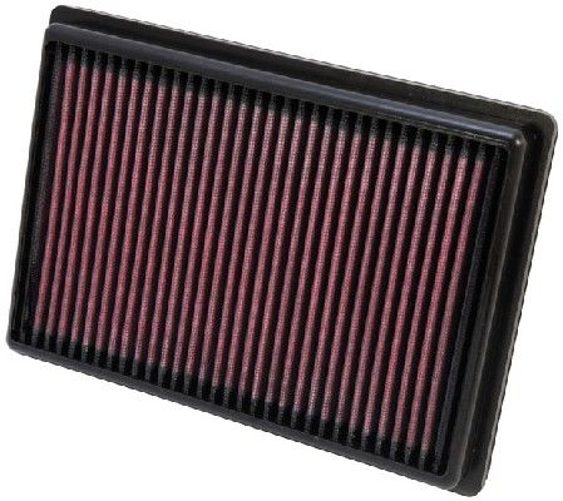 K&N Filters  33-2476 Luftfilter Länge: 241mm, Breite: 171mm, Höhe: 29mm, Länge: 241mm
