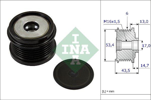 INA  535 0237 10 Generatorfreilauf