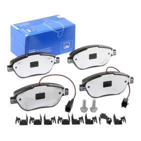 Bremsbelagsatz, Scheibenbremse Breite: 136,8mm, Höhe: 57,4mm, Dicke/Stärke: 19,6mm mit OEM-Nummer 7 736 546 8