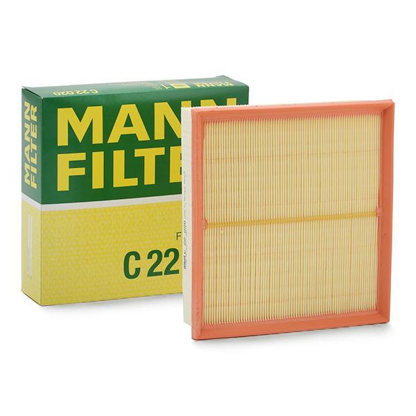 Luftfilter C 22 020 MANN-FILTER C 22 020 af original kvalitet