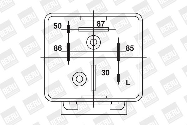 Control Unit, glow plug system BERU GR064 rating