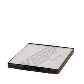 Filtro, aire habitáculo Long.: 238,0mm, Ancho: 204,0mm, Altura: 19,0mm con OEM número EC 96539649