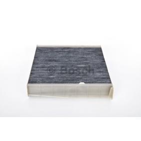 Filter, Innenraumluft Länge: 273mm, Breite: 242mm, Höhe: 43mm mit OEM-Nummer 30630755