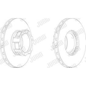 Bremsscheibe Bremsscheibendicke: 30mm, Lochanzahl: 6, Ø: 304mm mit OEM-Nummer 668 421 0112