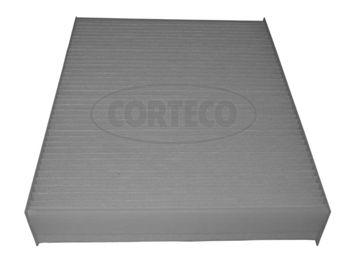 CORTECO  80004353 Filter, Innenraumluft Länge: 248mm, Breite: 200mm, Höhe: 41mm