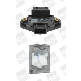 BERU Schaltgerät, Zündanlage 0040 401 063 für AUDI 80 (8C, B4) 2.8 quattro ab Baujahr 09.1991, 174 PS