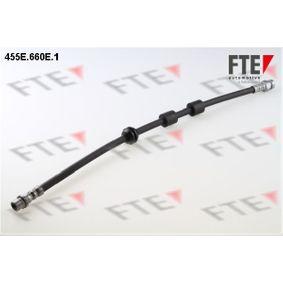 FTE  455E.660E.1 Bremsschlauch Länge: 455mm