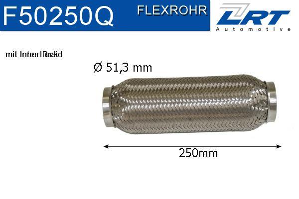 LRT  F50250Q Flexrohr, Abgasanlage Innendurchmesser: 50mm