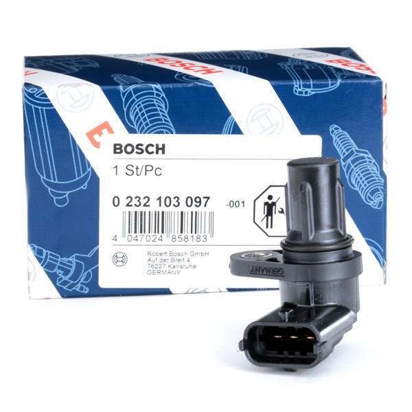 Sensor de Arbol de Levas BOSCH 0232103097 conocimiento experto
