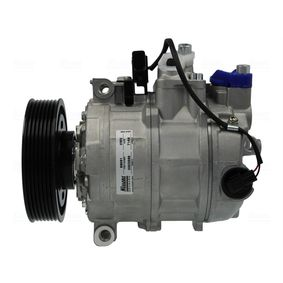 NISSENS Kompressor, Klimaanlage 89091 mit OEM-Nummer 3D0820803T
