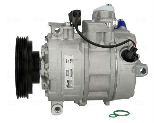 Compresor de Aire Acondicionado 89023 NISSENS 89023 en calidad original