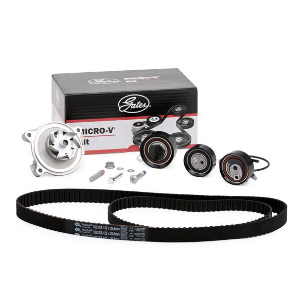 Timing belt kit and water pump KP55323XS-1 GATES WP0053 original quality