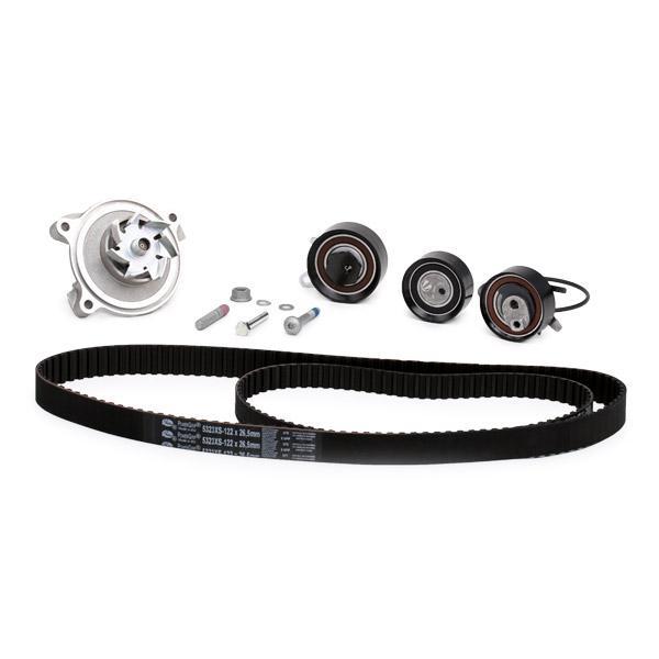 Water Pump + Timing Belt Kit GATES T43067 rating