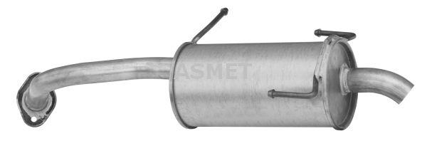 Image of ASMET Silenziatore posteriore 5907804514489