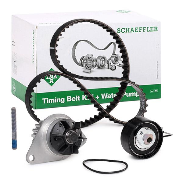 Timing belt and water pump kit INA 530033530 expert knowledge