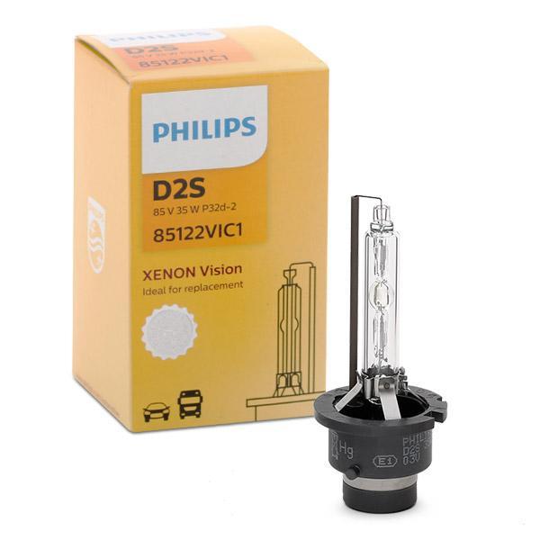 Lámpara, faro de carretera 85122VIC1 PHILIPS D2S en calidad original