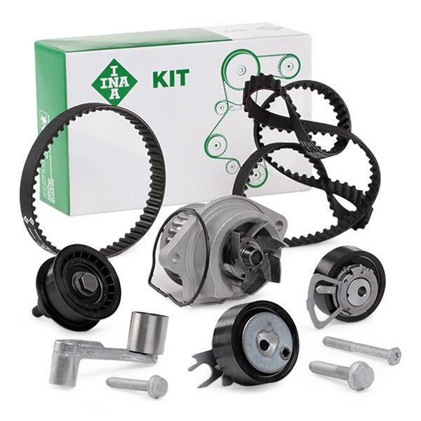 Timing belt and water pump kit INA 530008931 expert knowledge