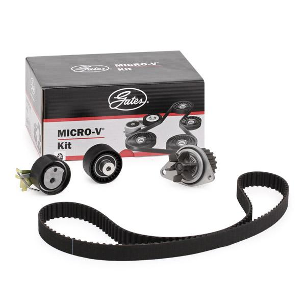 Timing belt kit and water pump KP15615XS GATES WP0056 original quality