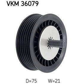 Umlenkrolle Keilrippenriemen VKM 36079 CLIO 2 (BB0/1/2, CB0/1/2) 1.5 dCi Bj 2010