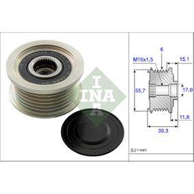 Alternator Freewheel Clutch with OEM Number 67115-40202