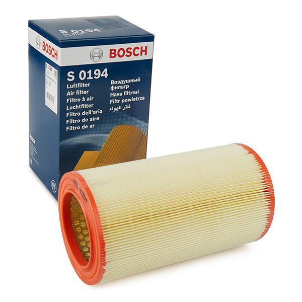 Luftfilter F 026 400 194 BOSCH S0194 in Original Qualität
