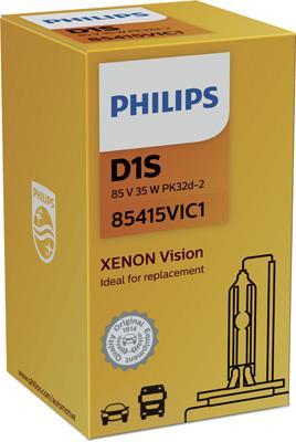 Glühlampe, Fernscheinwerfer PHILIPS 85415VIC1 046677712884