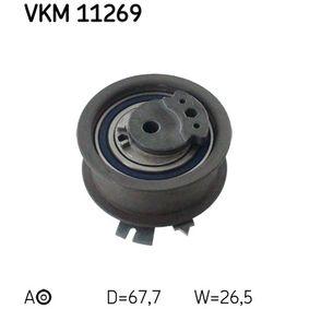 Spannrolle, Zahnriemen Ø: 67,8mm mit OEM-Nummer 03L 109 243 F