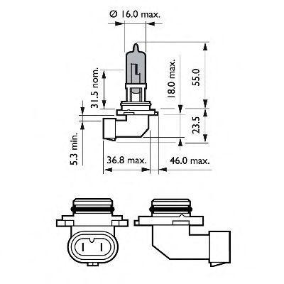 Glühlampe, Fernscheinwerfer PHILIPS GOC35100230 Bewertung
