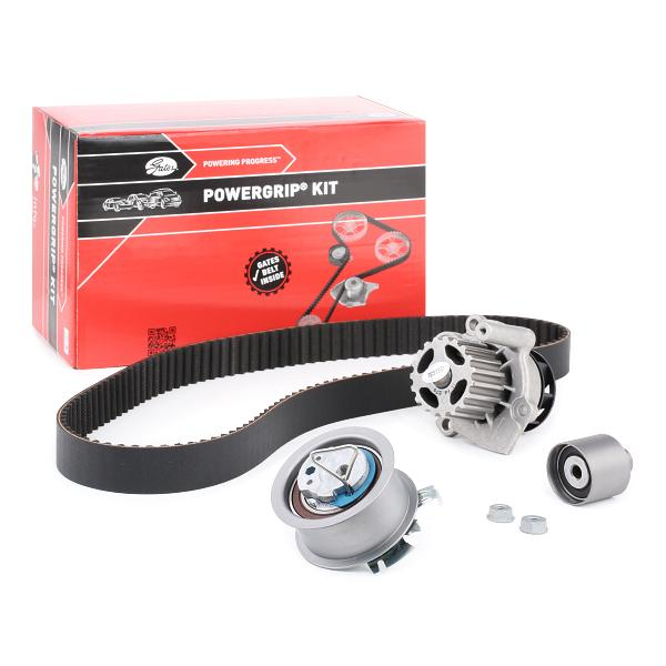 Timing belt kit with water pump GATES T43091 expert knowledge