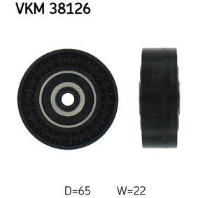 Umlenkrolle Keilrippenriemen Ø: 65mm, Ø: 65mm, Ø: 65mm mit OEM-Nummer 668 202 07 19
